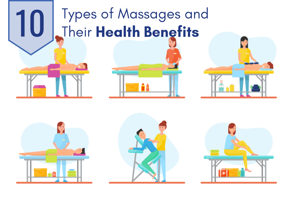 10 Different Types of Massages and Their Health Benefits